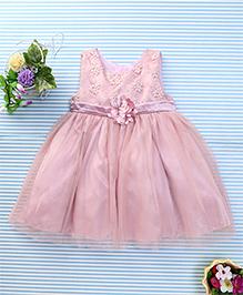 Amigo 7 Seven Floral Party Dress - Coral Pink
