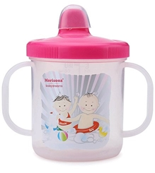 Morisons Baby Dreams Sippy Feeding Cup Pink 180 ml