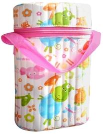 Morisons Baby Dreams Double Bottle Warmer Pink
