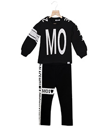 Whitehenz Clothing Beauty Tracksuit - Black