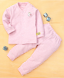 Gigilily Smart Tee & Pant Set - Pink
