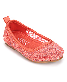 Pumpkin Patch Belly Shoes - Coral