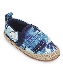 Pumpkin Patch Casual Canvas Shoes - Blue