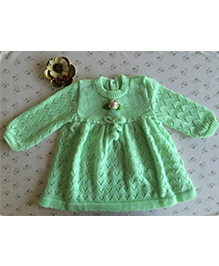 Buttercup From KnittingNani Blended Dress - Pista
