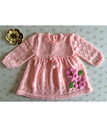 Buttercup From KnittingNani Blended Dress - Pink