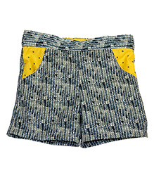 Kadambaby Printed Shorts - Blue