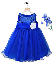 Simply Cute Twinkle Dress - Ink Blue