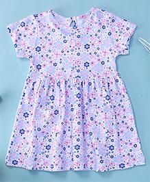 Yiyi Garden Flower Print Baby Dress - Multicolour