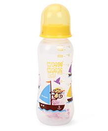 Mee Mee Feeding Bottle Yellow - 250 Ml