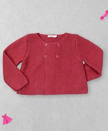 Bout Chou Stylish Sweater - Indian Red