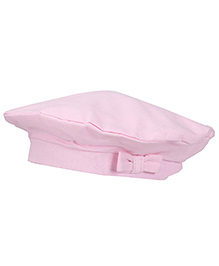 Boutchou Hat With Bow - Pink