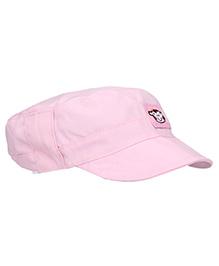 Boutchou Monkey Print Cap - Pink