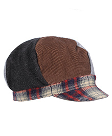 Boutchou Checkered Cap - Muticolour