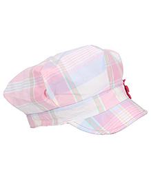 Boutchou Checkered Cap - Pink