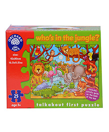 Orchard Who's In The Jungle Puzzle - 25 Pieces