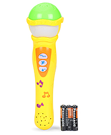 Smiles Creation Microphone Toy - Yellow