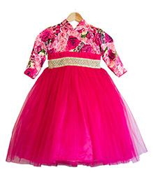 Flutterbows Designer Rosella Gown - Pink