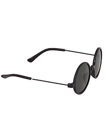 Spiky Classic Round Kids Sun glasses - Black & Green