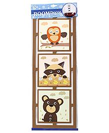 Animals Wall Sticker - Brown