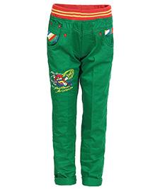 Benext Full Length Trousers - Green