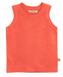FS Mini Klub Sleeveless Sweater - Peach