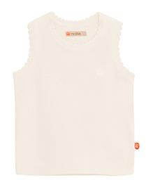 FS Mini Klub Sleeveless Sweater - White