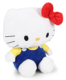Hello Kitty Plush Soft Toy Dark Blue & White - Height 35 Cm