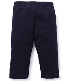 Red Ring Three Forth Leggings - Navy