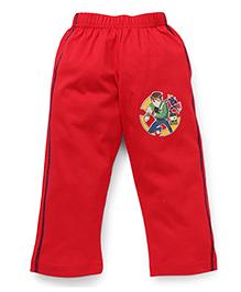 Ben 10 Full Length Track Pants - Red