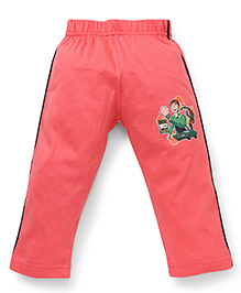 Ben 10 Full Length Track Pants - Coral