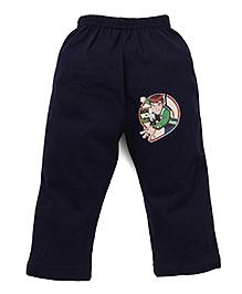 Ben 10 Full Length Track Pants - Navy Blue