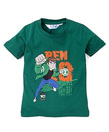Ben 10 Half Sleeves Printed T-Shirt - Green