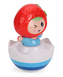 Luvely Doll Winkey Musical Tumbler - Blue Red White