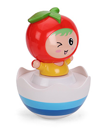 Luvely Doll Winkey Musical Tumbler - Blue Red White Yellow