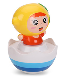 Luvely Doll Winkey Musical Tumbler - Yellow Orange