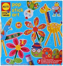 Alex - Pop Stick Art
