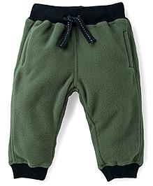Fox Baby Full Length Track Pants - Green
