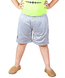 Anthill Contrast Colour Mesh Shorts - Grey