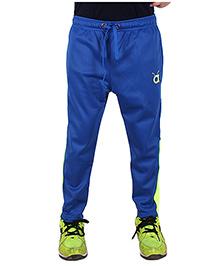 Anthill Hero Track Pants - Royal Blue & Neon Green