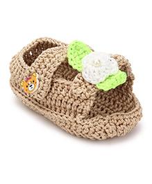 Funkrafts Crochet Flipper - Brown