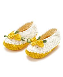 Funkrafts Crochet Stilettos - Yellow