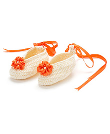 Funkrafts Crochet Stilettos - Cream