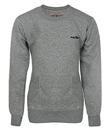 Haig-Dot Full Sleeves Sweatshirt - Grey