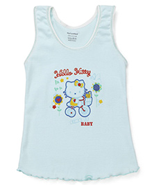 Cucumber Sleeveless Slip Hello Kitty Print - Blue