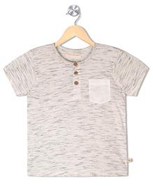 Raine And Jaine Boys Polo T Shirt - Off White