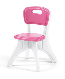 Step2 Table And Chairs Set - White Pink
