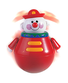 Tolo Roly Poly Chiming Clown - Red