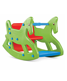OK Play ROXY 2-IN-1 Rocking Horse Cum Chair -Green
