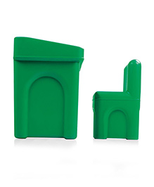 OK Play Little Master Table And Chair Set - Green