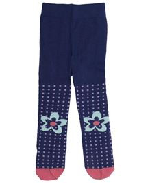 Babyoye All Over Print Stockings - Blue